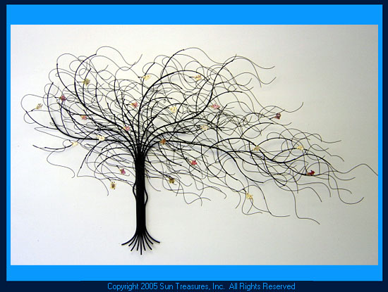 Wall Art Trees september tree | metal wall art sculpture | gurtan designs
