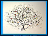 Gurtan May Tree Metal Wall Sculpture