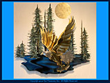 Ken Scott American Dream Metal Wall Sculpture