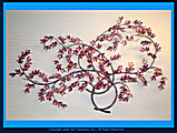 Max Howard Windy Maple Branch Metal Wall Sculpture